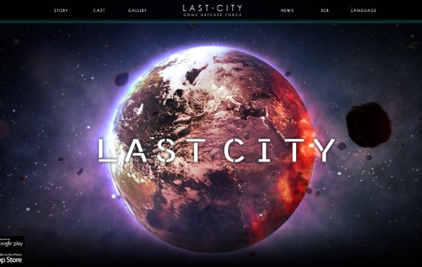 【Lastcity】 game website(RWD)