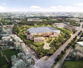 保留90%的樹,台灣首座循環圖書館在台南!國圖南館競圖,九典聯合建築事務所獲首獎
